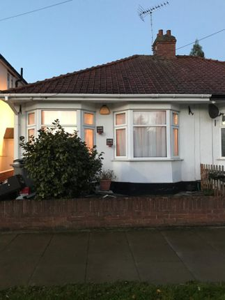 Thumbnail Bungalow to rent in Beaumont Avenue, Wembley