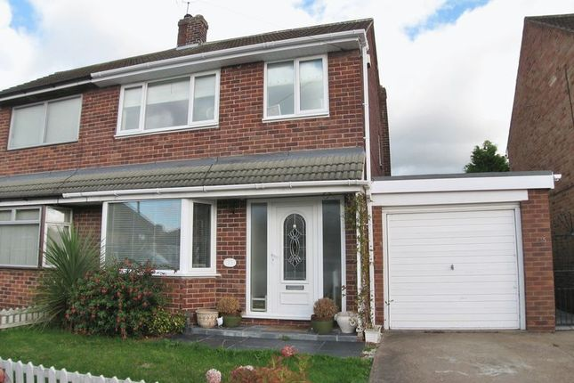 Thumbnail Semi-detached house for sale in Chatsworth Avenue, Radcliffe-On-Trent, Nottingham