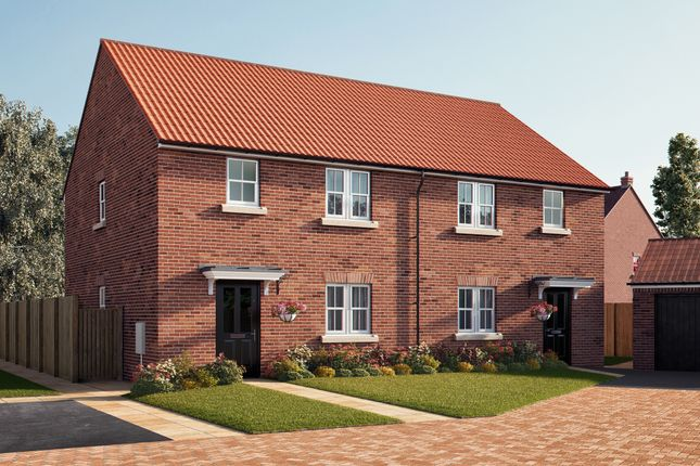 "Thumbnail Semi-detached house for sale in ""The Kendal"" at Southfield Lane, Tockwith, York"