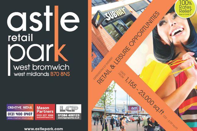 Thumbnail Retail premises to let in Astle Retail Park, West Bromwich