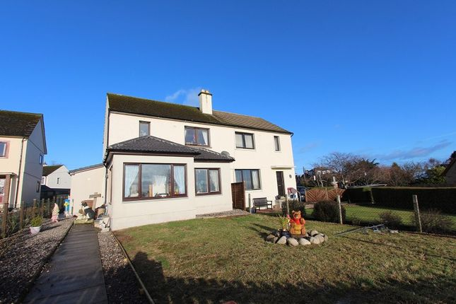 Thumbnail Semi-detached house for sale in 11 Gollanhead Avenue, Rosemarkie, Fortrose, Black Isle.