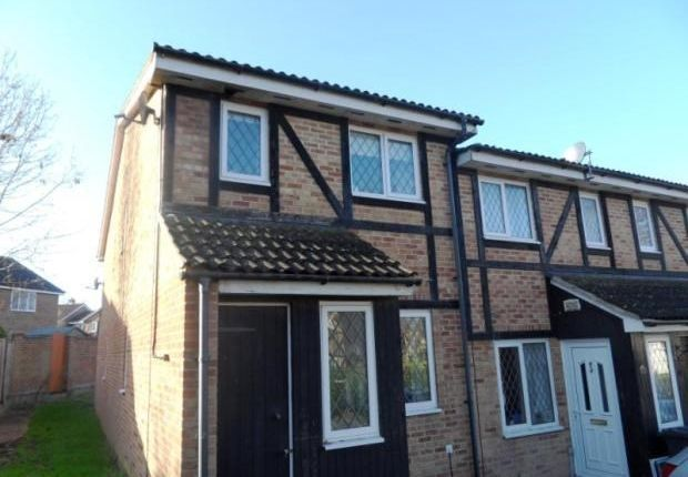 Thumbnail End terrace house to rent in St Nicholas Court, Basingstoke