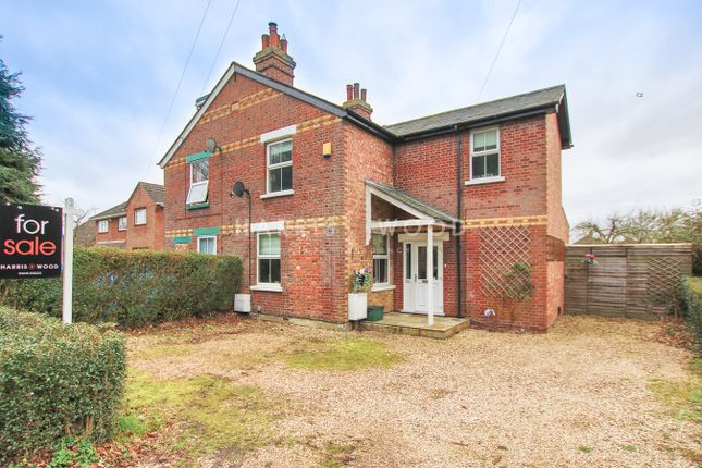 Thumbnail Semi-detached house for sale in Straight Road, Colchester