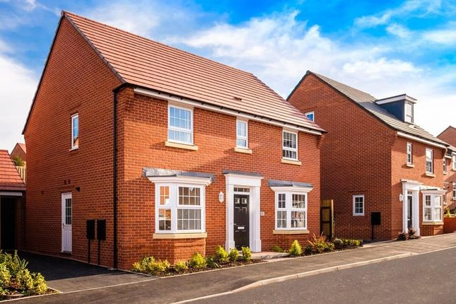 """Thumbnail Detached house for sale in """"Bradgate"""" at Fleckney Road, Kibworth, Leicester"""