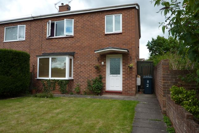 Thumbnail End terrace house for sale in Stersacre, Shrewsbury