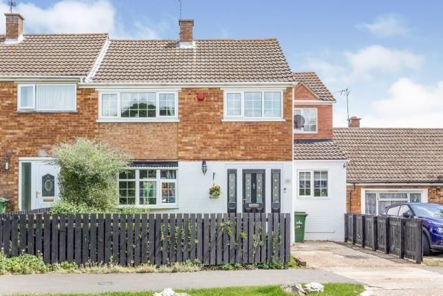 Thumbnail Semi-detached house for sale in Angus Drive, Bletchley, Milton Keynes, Buckinghamshire