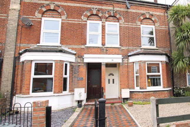 1 bed terraced house for sale in Gainsborough Road, Felixstowe