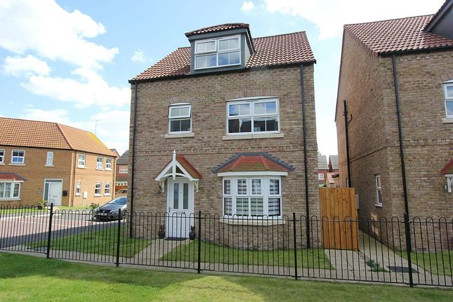 Thumbnail Detached house for sale in Saunders Close, Caistor, Market Rasen, Lincolnshire