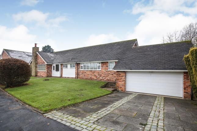 Thumbnail Bungalow for sale in Willowmead Drive, Prestbury, Macclesfield, Cheshire
