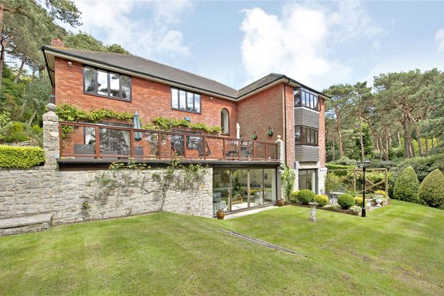 Thumbnail Detached house for sale in The Glen, Canford Cliffs, Poole