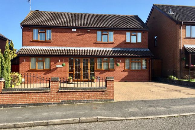 Thumbnail Detached house for sale in Rainsbrook Drive, Nuneaton