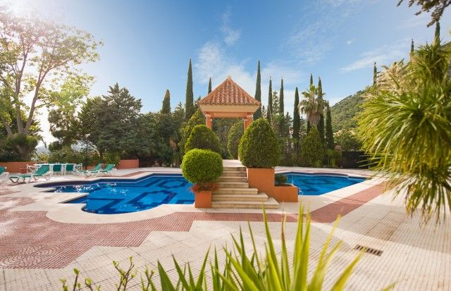 Pool And Gardens of Spain, Málaga, Mijas