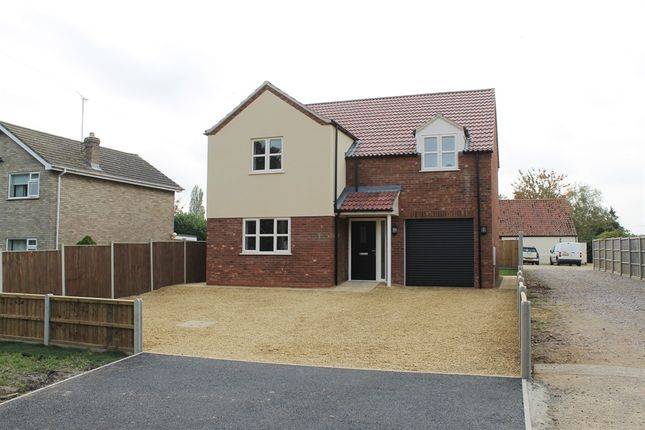 Thumbnail Detached house for sale in Church Road, Clenchwarton, King's Lynn