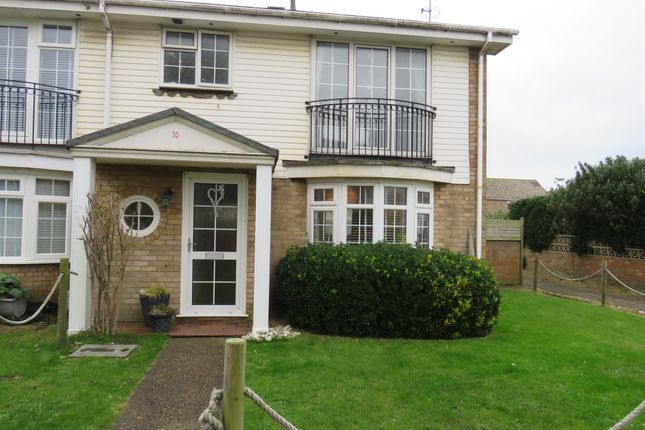 Thumbnail End terrace house for sale in The Moorings, Shoreham-By-Sea