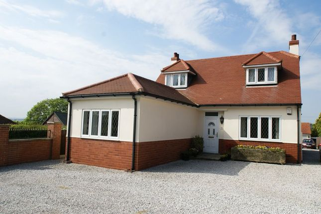 Thumbnail Detached bungalow for sale in The Hill, Glapwell, Chesterfield, Derbyshire
