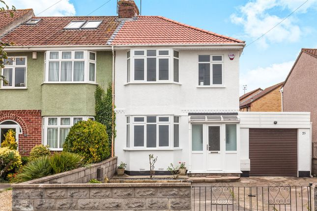 Thumbnail End terrace house for sale in King Georges Road, Bishopsworth, Bristol