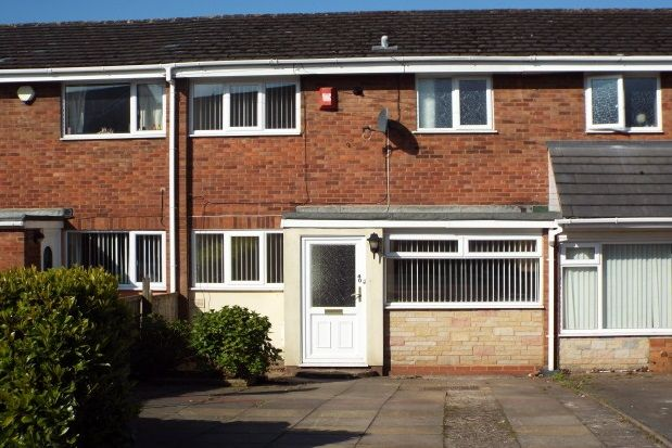 Thumbnail Terraced house to rent in Manor Rise, Burntwood