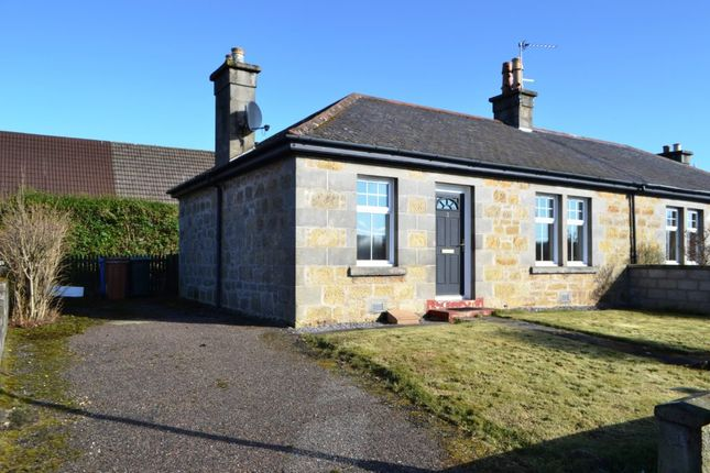 Thumbnail Semi-detached bungalow to rent in 2 Abbeyview, Kinloss, Forres, 3Tl.