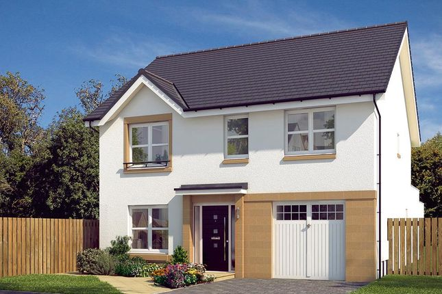 "Thumbnail Detached house for sale in ""The Rosebury"" at Edinburgh Road, Newhouse, Motherwell"