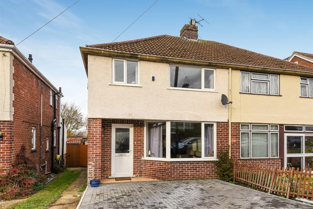 Thumbnail Semi-detached house for sale in Beech Road, Botley, Oxford
