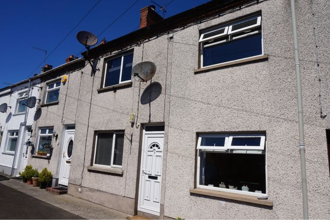 Thumbnail 2 bed terraced house for sale in Gladstone Terrace, Ballyclare