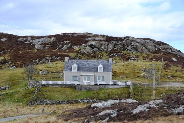 Thumbnail Detached house for sale in Cromore, South Lochs, Isle Of Lewis
