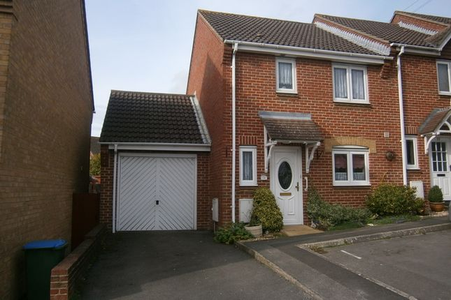 Thumbnail End terrace house for sale in Caer Peris View, Portchester