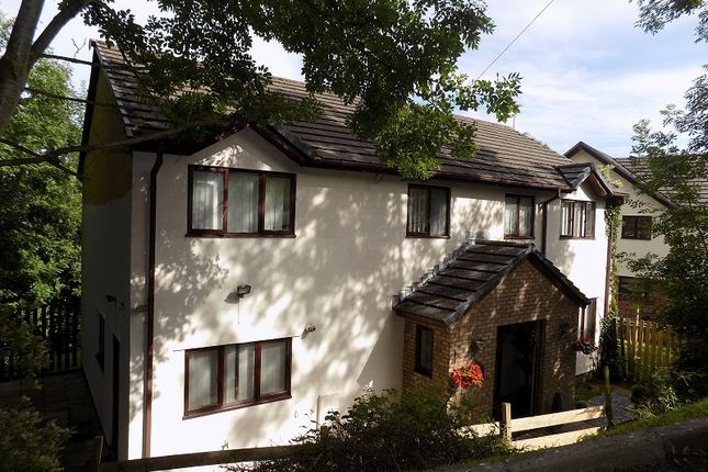 Thumbnail Detached house for sale in Holly Lodge, Pascoes Avenue, Cefn Glas, Bridgend.