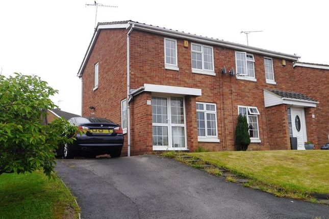 Thumbnail Semi-detached house to rent in Pine Avenue, Langley Mill, Nottingham
