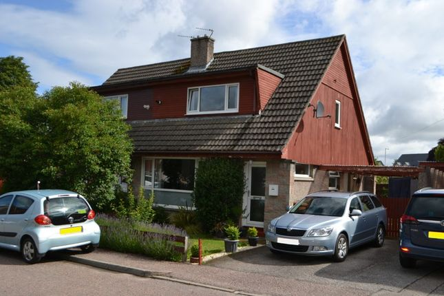 Thumbnail Semi-detached house to rent in 23 Thornhill Place, Forres
