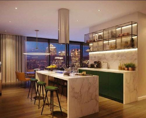 Thumbnail Flat for sale in The Wardian, West Tower, Marsh Wall, Canary Wharf