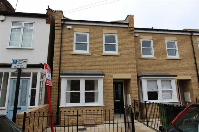 Thumbnail End terrace house for sale in Stanley Road, North Chingford, London