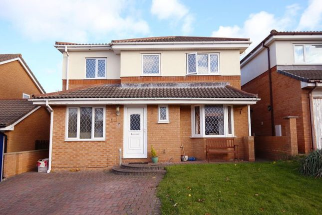 Thumbnail Detached house for sale in Ailsa Walk, Heysham, Morecambe