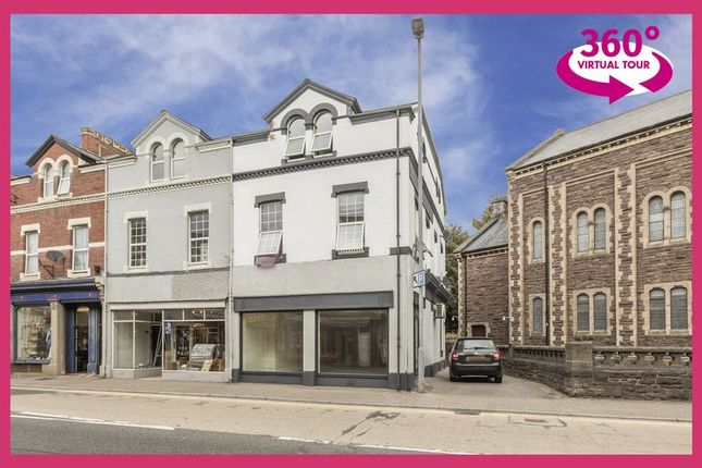 Thumbnail Property for sale in Frogmore Street, Abergavenny