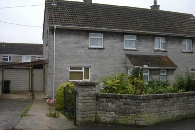 Thumbnail Semi-detached house to rent in Behind Berry, Somerton