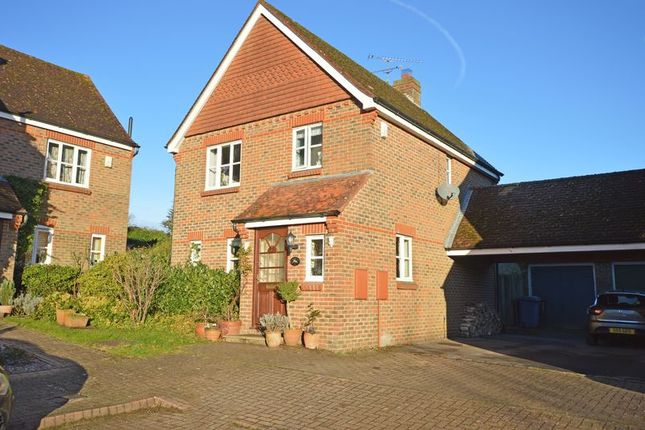 Thumbnail Detached house for sale in The Old Orchard, South Warnborough, Near Odiham