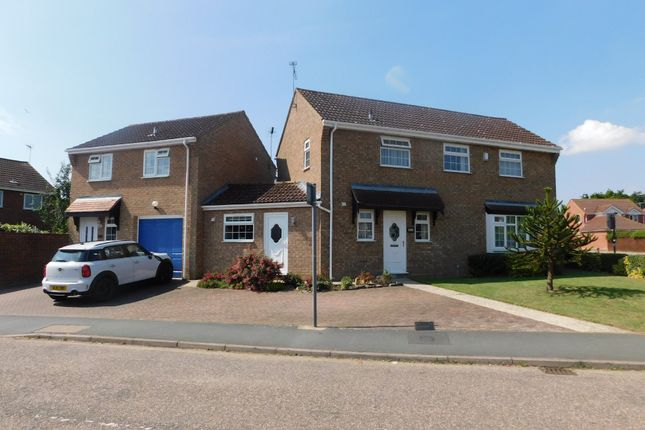 Detached house for sale in Lowry Way, Stowmarket