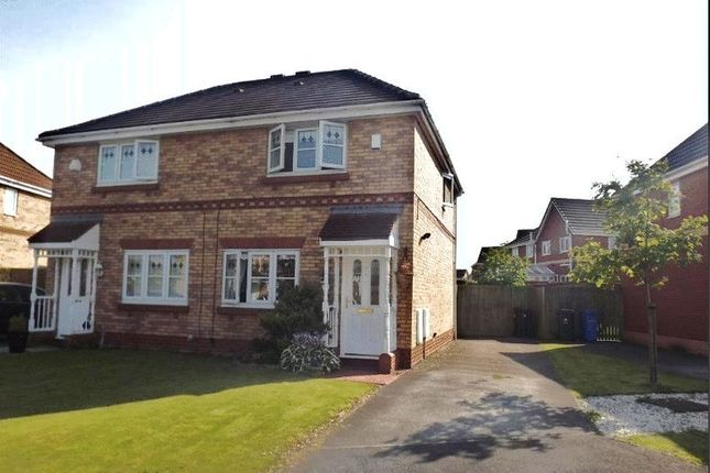 Thumbnail Semi-detached house to rent in Monash Close, Kirkby, Liverpool