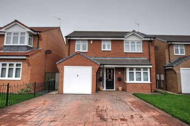 Detached house for sale in Bramble Close, South Beach, Blyth