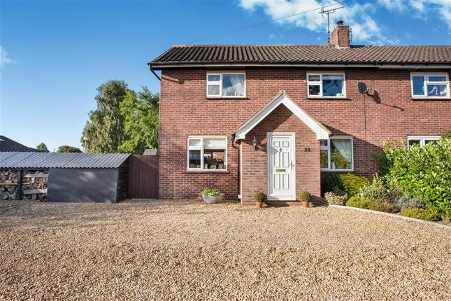 Thumbnail Semi-detached house for sale in Dennys Walk, Narborough, King's Lynn