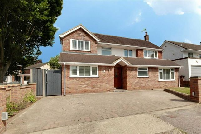 Thumbnail Detached house for sale in Ashridge Drive, Bricket Wood, Hertfordshire