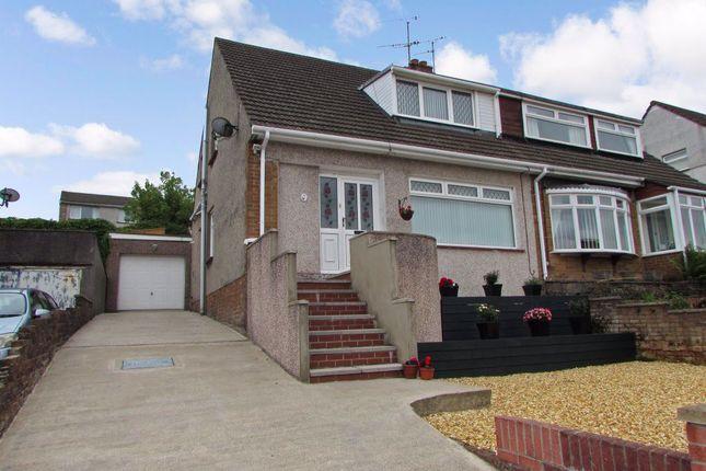 Thumbnail Property to rent in Treharne Drive, Pen-Y-Fai, Bridgend