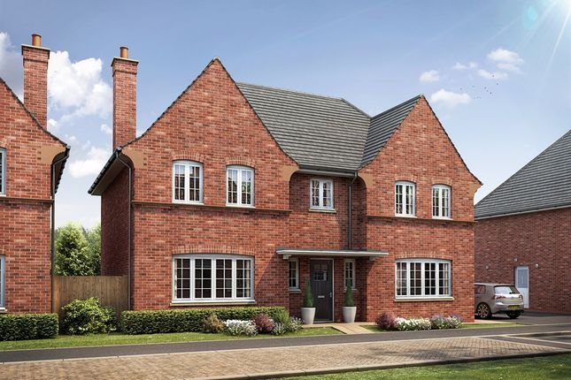 "Thumbnail Detached house for sale in ""The Woburn "" at Kiln Drive, Stewartby, Bedford"