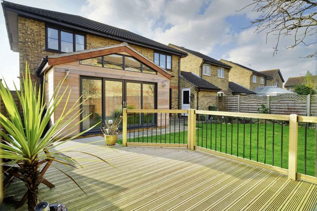 Thumbnail Detached house for sale in Carisbrooke Way, Eynesbury, St Neots