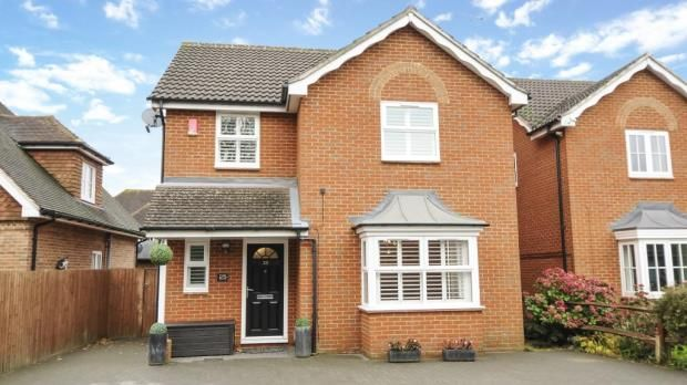Thumbnail Detached house for sale in Frogmore Road, Frogmore, Surrey