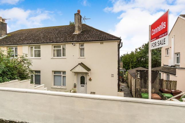 Thumbnail Flat for sale in Taunton Avenue, Whitleigh, Plymouth