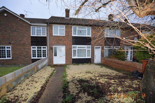 Thumbnail End terrace house to rent in Long Furlong Drive, Slough