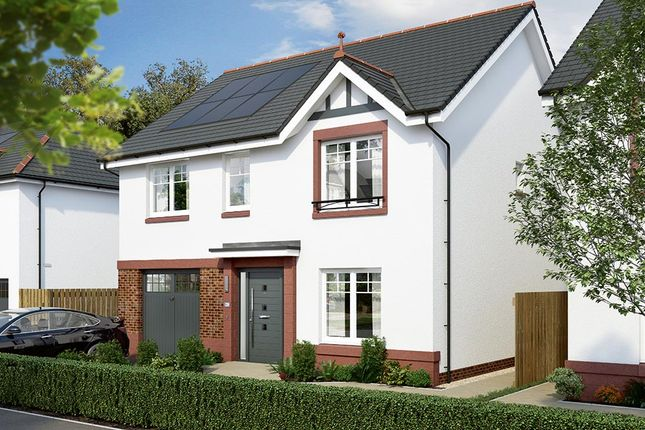"""Thumbnail Detached house for sale in """"The Rosebury"""" at Lochview Terrace, Gartcosh, Glasgow"""