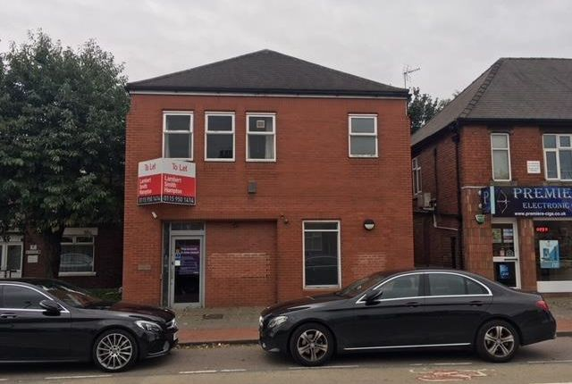 Thumbnail Retail premises for sale in Former Natwest Bank, 37, Forest Road, New Ollerton, Nottinghamshire