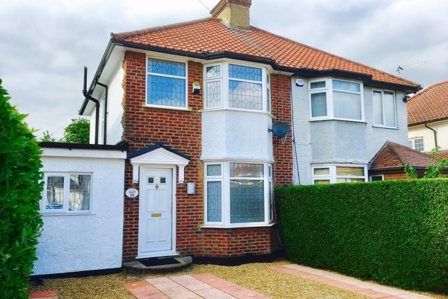 Thumbnail Semi-detached house for sale in Portman Gardens, Colindale